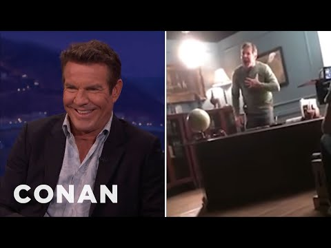 Dennis Quaid On His Meltdown Prank  - CONAN on TBS
