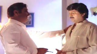 Alludugaru Movie || Satyanarayana & Mohan Babu Sentiment Scene  || Mohan Babu, Shobana