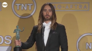Jared Leto   Press Room   SAG Awards