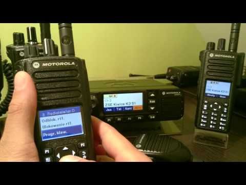Motorola MotoTRBO DM4601, DP4601, DP4801 - Demonstracja
