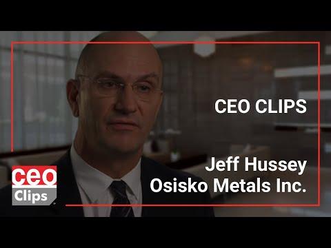 CEO Clips: Jeff Hussey   Osisko Metals Inc.   Premier Zinc Mining Camps