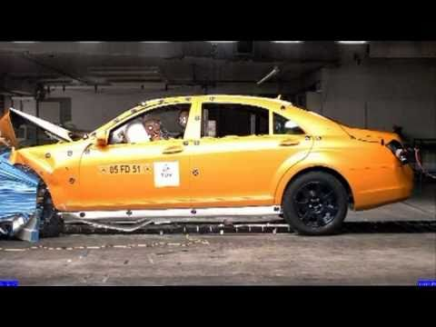 Mercedes S-Class (2010) CRASH TEST