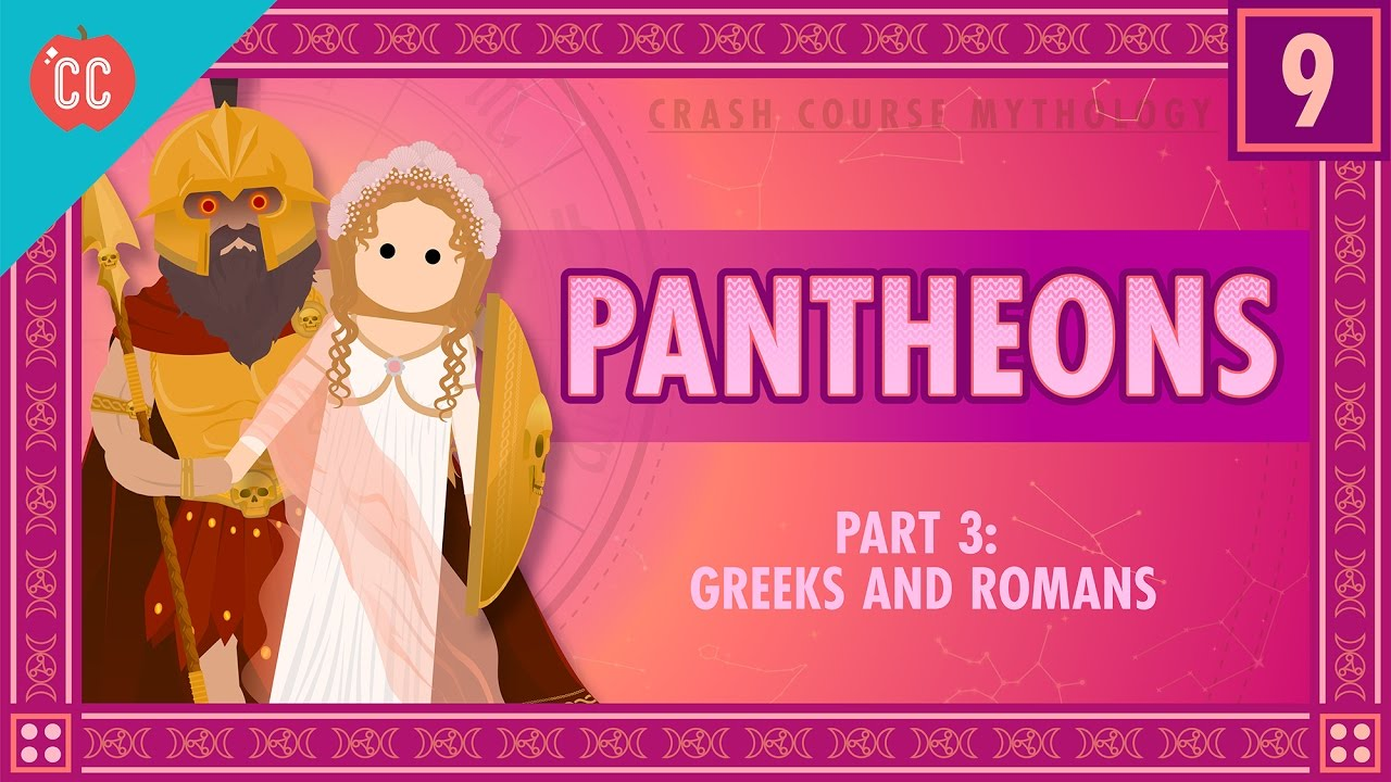 Download The Greeks and Romans - Pantheons Part 3: Crash Course World Mythology #9