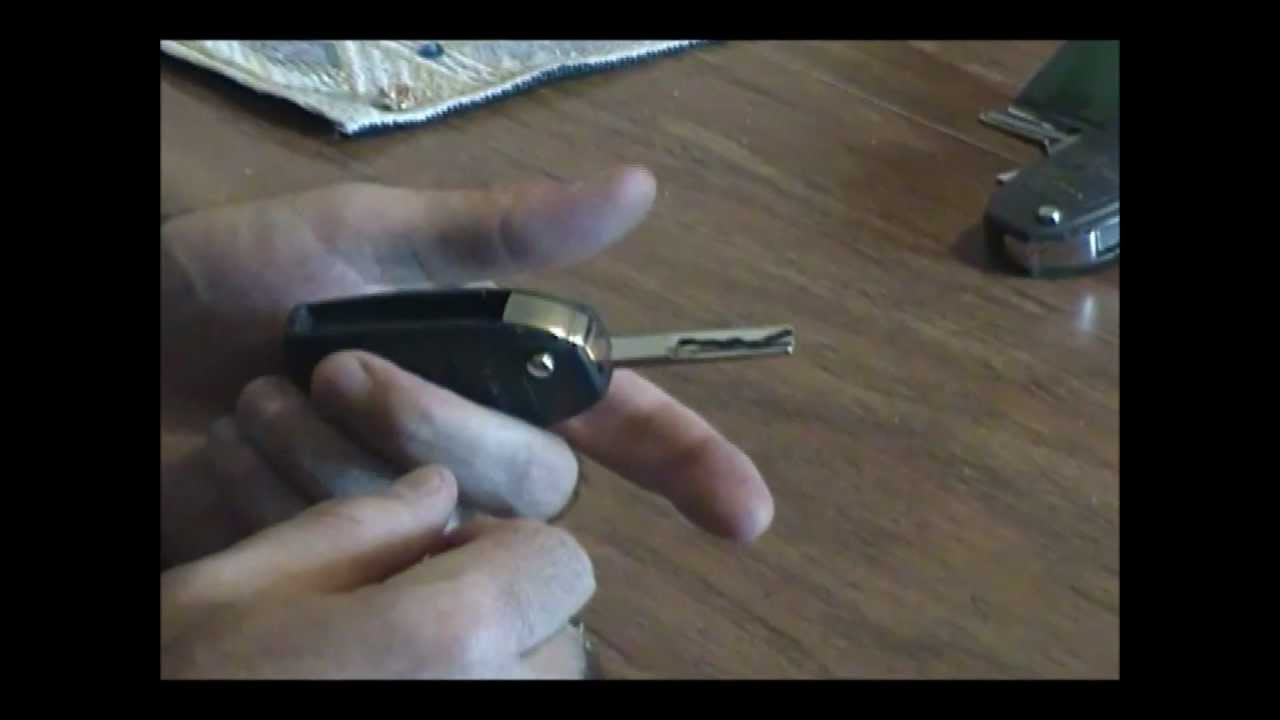 Volvo Key Fob Battery Change Procedure Dead Battery