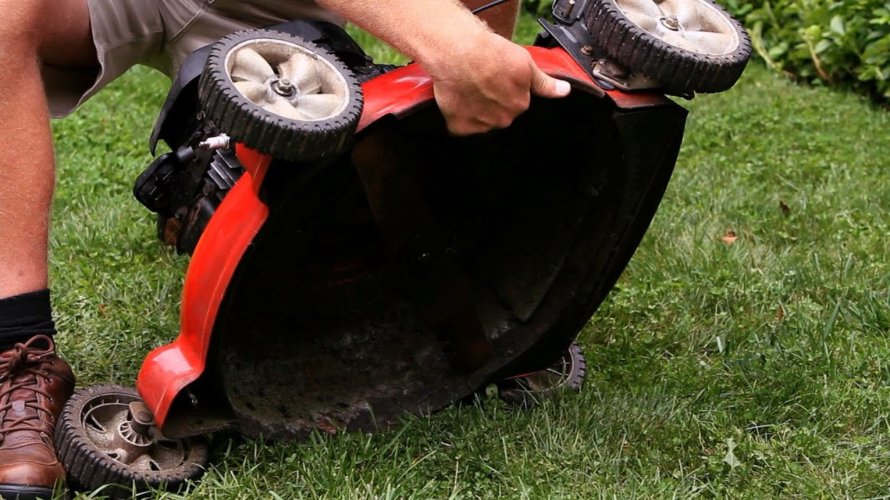 how to winterize your lawn mower lawn u0026 garden care youtube