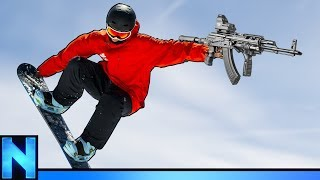 New Battle Royale With Snow Boards? - Ring Of Elysium