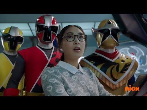 "Power Rangers Super Ninja Steel - Emma Helps The Power Rangers | Episode 15 ""Tech Support"""