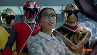 Power Rangers Super Ninja Steel - Emma helps the Power Rangers | Episode 15