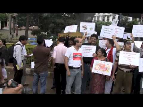 Marriage law amendment bill 2010 protest  - Bangalore