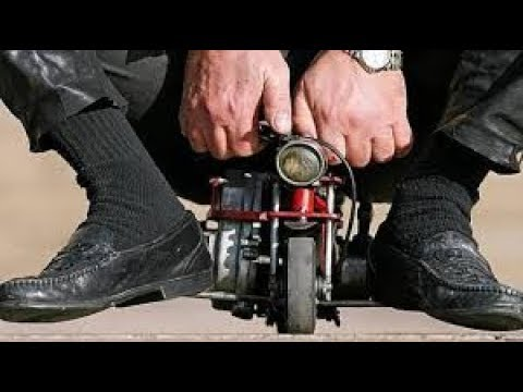 ÇOK KÜÇÜK - Dünya'nın En Küçük Motorsikleti.