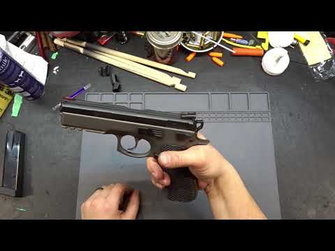 Is it safe to dry fire a CZ75? CZ Oring tip for dry fire