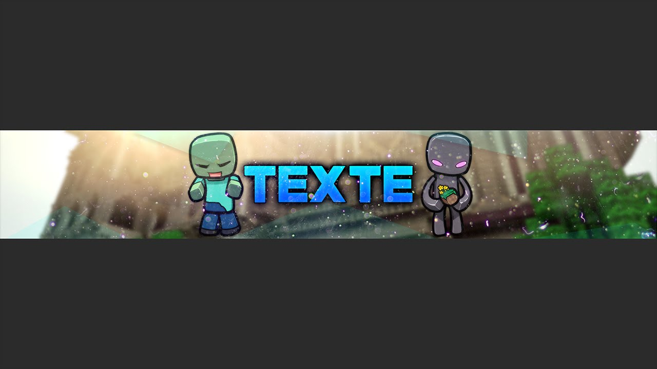 banni u00e8re minecraft gratuite   free banner template
