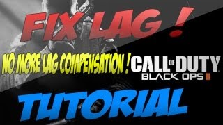 Call of Duty: Black Ops 2 Lag/Connection Fix! NO MORE Lag in BO2 Working Tutorial ! (Xbox,PS3,Wii U)