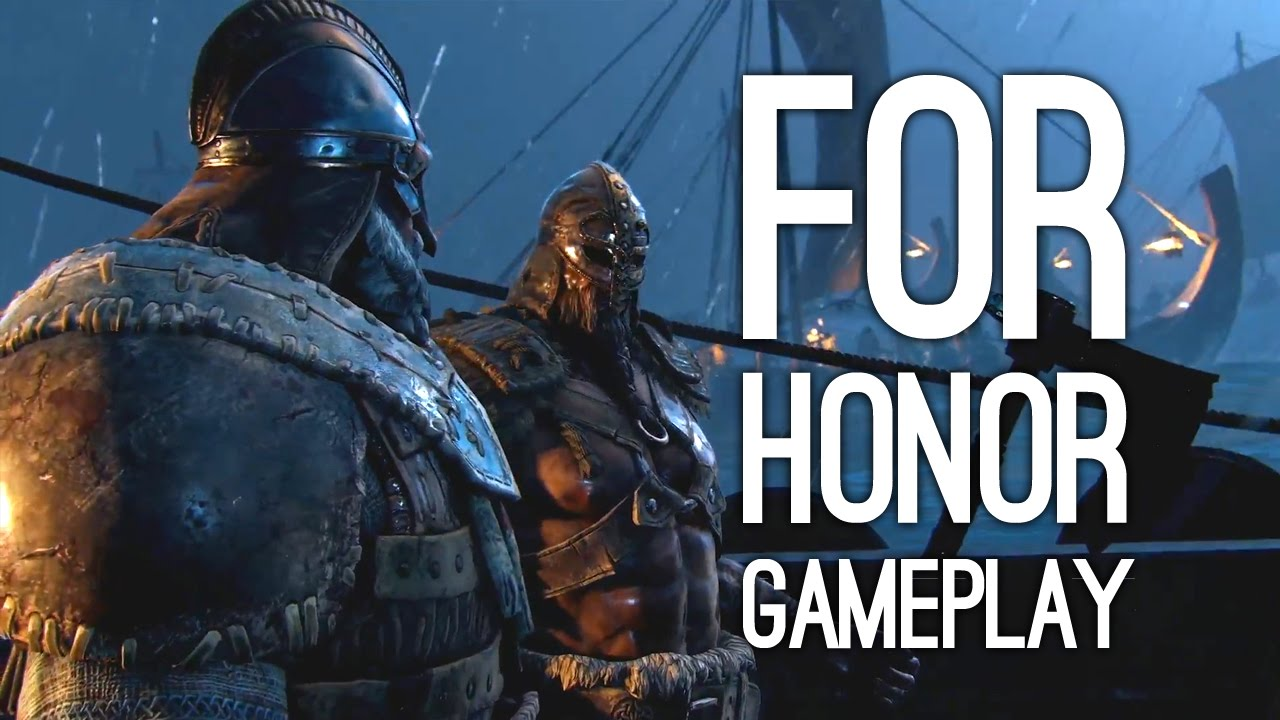 For Honor Gameplay Demo At E3 2016 Viking Gameplay
