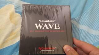 Unboxing Cross Beats Wave Bluetooth wireless earphone