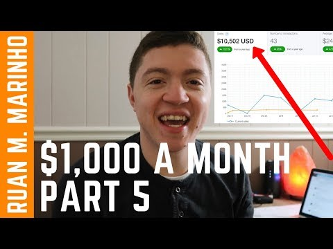 How To Make $1,000 A Month Online From Scratch [2018] - Make Money Online With PayPal Part 5