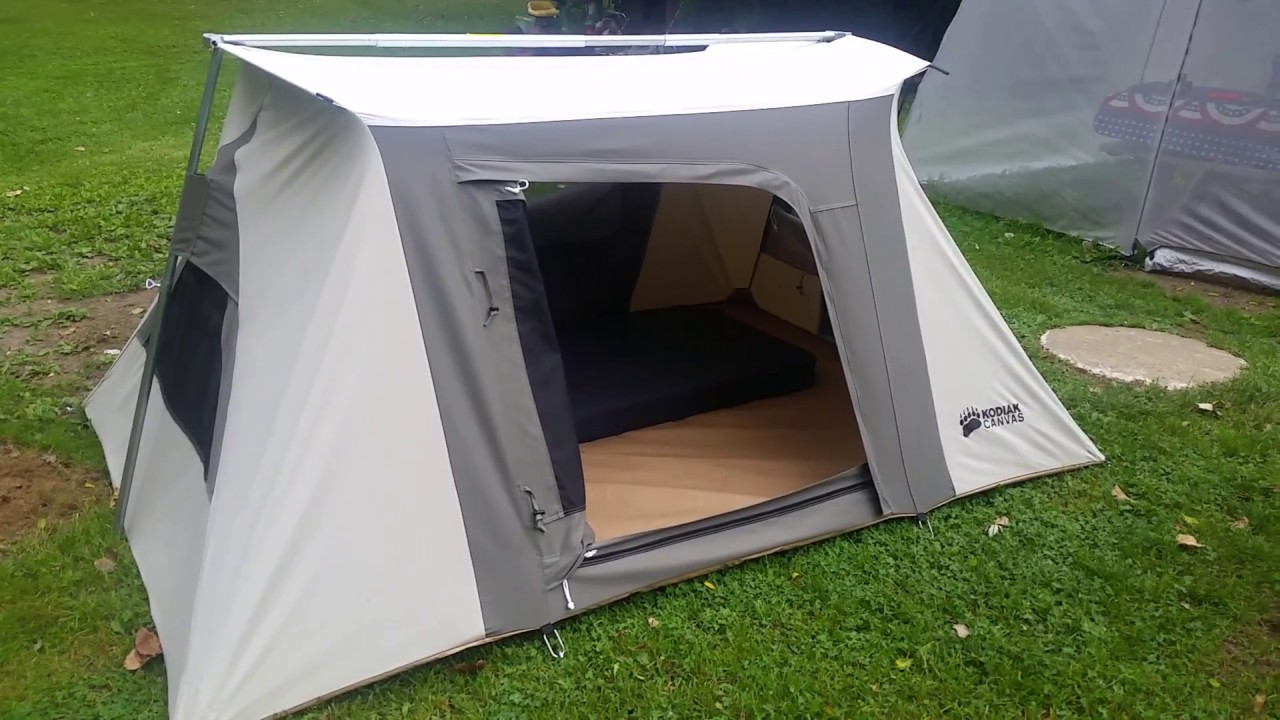 Kodiak Canvas Flex-Bow VX 2-Person Tent, the reason, part 1