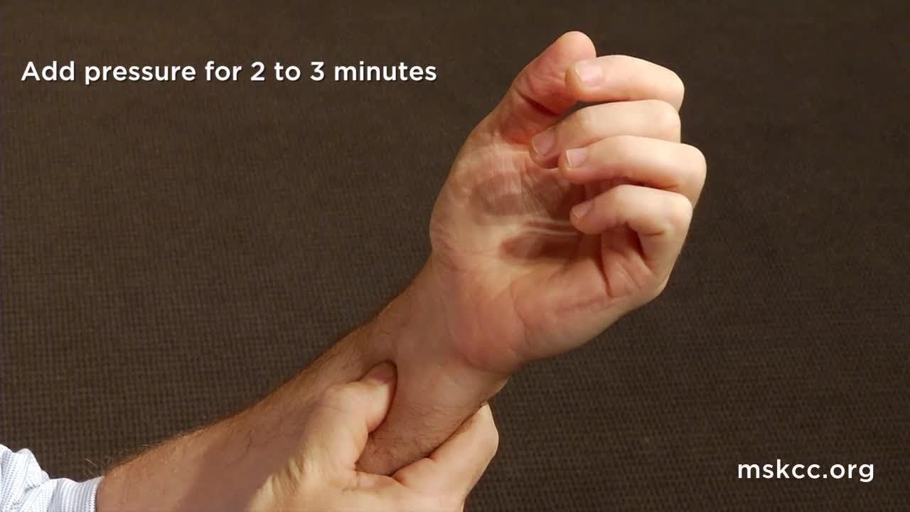 Acupressure Nausea - Acupuncture Acupressure Points