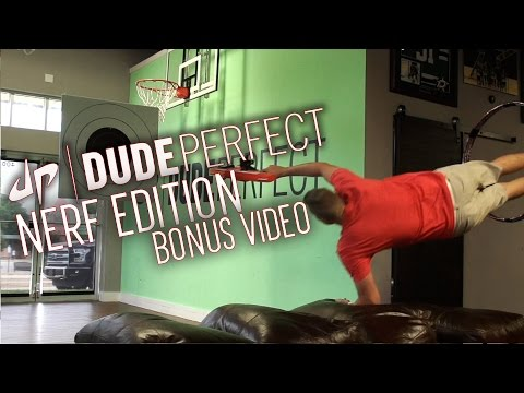 Dude Perfect: Nerf Blasters Battle BONUS Video