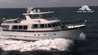 Outer Reef 80 trawler yacht cruising Florida coast