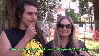 Citizens for Fair Representation (CFR) against California