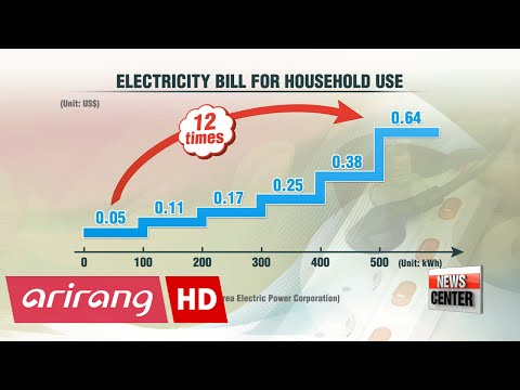 Korean electricity consumers face electric bill bombshell despite government's 20% rate cut