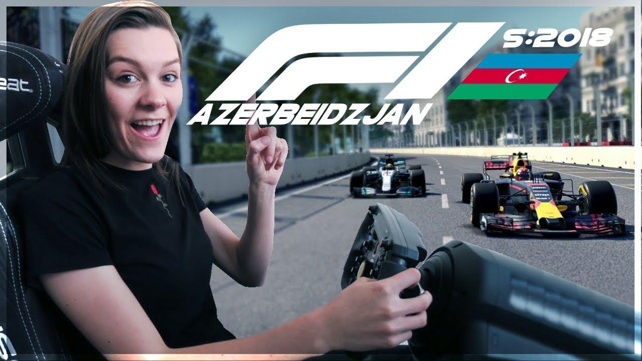 MAX VERSTAPPEN WIN!? FORMULE 1 BAKU 2018!#AzerbaijanGP (Formule 1: S2018)