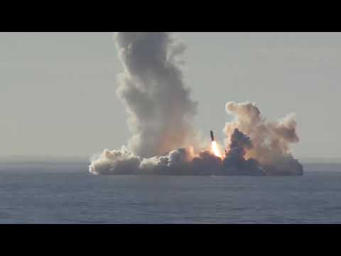 BREAKING: Russia's Submarine Successfully Tests Four Bulava ICBMs in Salvo!