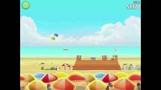 Angry Birds Rio Golden Beachball Level #2 Walkthrough