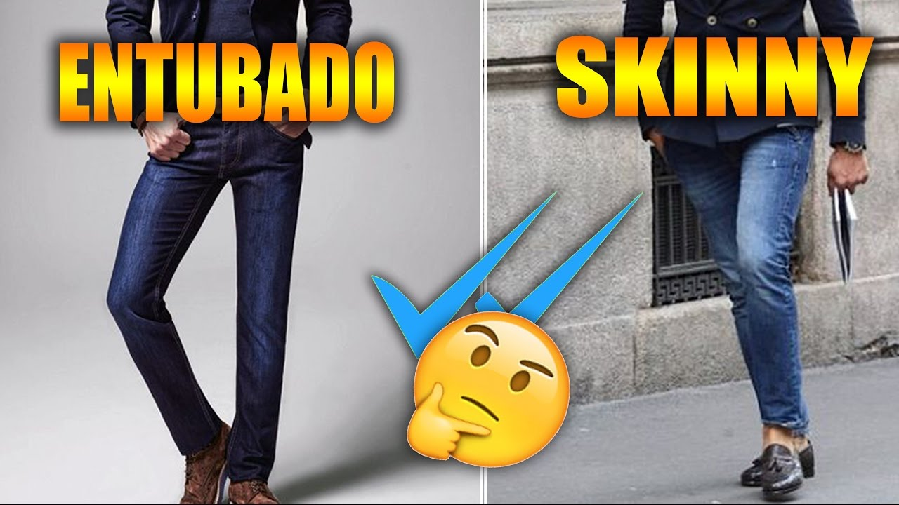 Pantalon Skinny O Entubado Victor Caballero Youtube