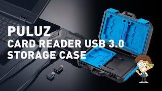 PULUZ Card REader USB 3.0  Storage Case - незаменимая шкатулка для путешествующего влогера