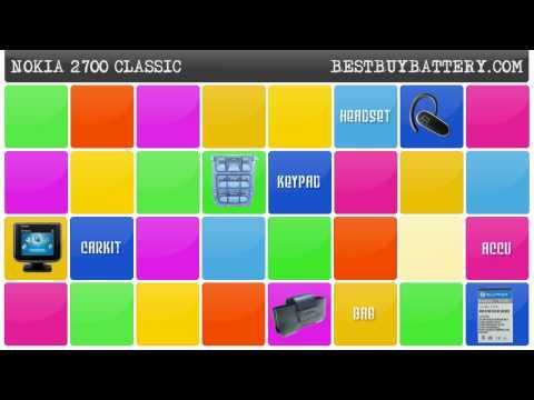 NOKIA 2700 Classic - www.bestbuybattery.com