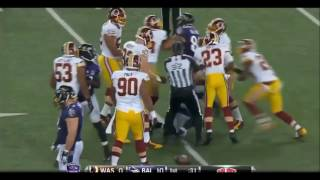 NFL Biggest Fights in Football History