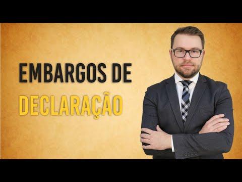 NOVO CPC - EMBARGOS DE DECLARAÇÃO