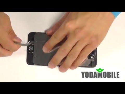 Замена дисплея IPhone 6 Plus. Видео по замене дисплея IPhone 6 Plus.