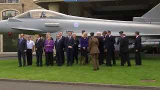NATO Summit, Wales - Air Power Flypast Over Celtic Manor!