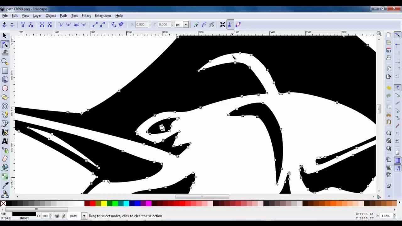 Inkscape Image To Vector Doovi