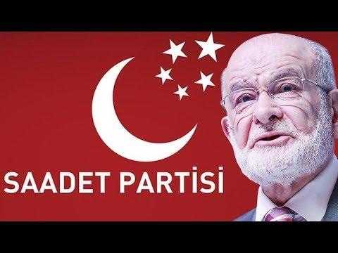 Saadet Partisi Lideri Temel Karamollaoğlu Seçim Beyannamesini Açıkladı