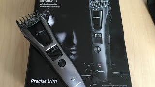 UNBOXING Panasonic ER-GB60-K Hair Trimmer(Panasonic ER-GB60-K Hair Trimmer 0,5-20 mm AC Rechargeble Beard., 2016-06-27T17:43:14.000Z)