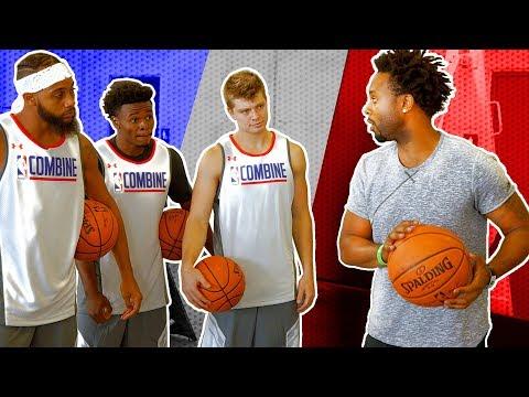 HOW PRO BALLERS TRAIN | Jerian Grant v Social Media Stars | NBA Playmakers Training Day