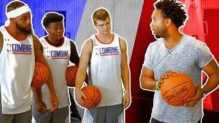 HOW PRO BALLERS TRAIN   Jerian Grant v Social Media Stars   NBA Playmakers Training Day