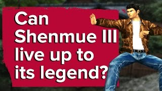 Can Shenmue 3 live up to its legend?