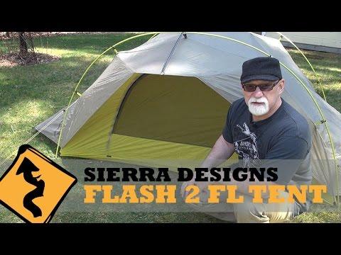 Motorcycle C&ing Sierra Designs Flash 2 FL Tent  sc 1 st  YouTube & Motorcycle Camping: Sierra Designs Flash 2 FL Tent - YouTube