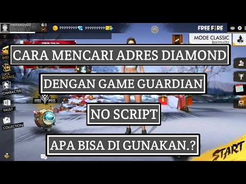 cheat free fire cara mencari adres diamond menggunakan game guardian