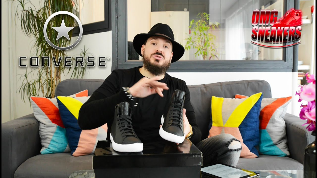 f809ec350fe4 CONVERSE ALL STAR MODERN HTM ON FEET REVIEW - YouTube