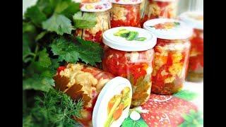 Салат з цвітної капусти на зиму / Салат из цветной капусты на зиму