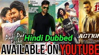 Top 5 Big Blockbuster New South Hindi Dubbed Movies Available On YouTube|Action|Vishal|2020.