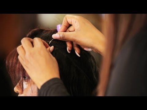 How to Apply Hair Tracks for a Weave |...