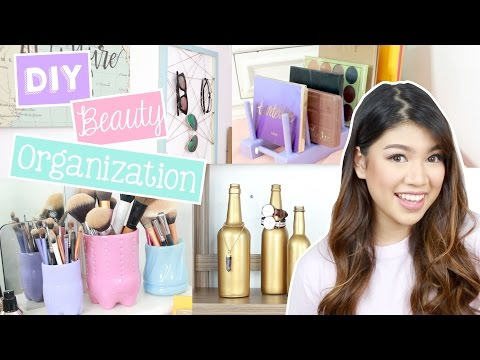 DIY Beauty Organization Ideas!! (SM Department Store, Ace Ha