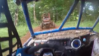 Polaris Rs1 vs Rzr XP ending in bad roll over!